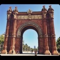 Arc de Triomf!