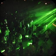 Pato brought us to a club-club. On a monday night, this place was goin' off!