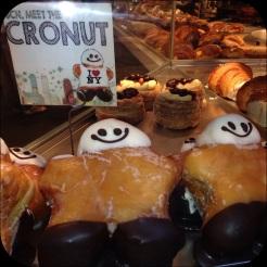 the Cronut: croissant-donut... wow!