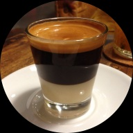 Terry's beautifuly poured espresso, or whatever this was.