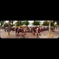 an outdoor market